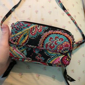 Vera Bradley wristlet, also used as long purse